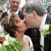 Fanden bei Bauer sucht Frau die große Liebe: Anja und Bruno.