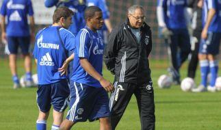 Farfan im Schalke-Training - Magath-Kritik (Foto)