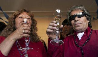 Fast alle chilenischen Kumpel aus Klinik entlassen (Foto)