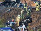 Fast alle Leichen nach Flugzeugabsturz geborgen (Foto)