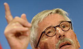 Fast jeder fünfte Deutsche würde einer Emnid-Umfrage zufolge eine Sarrazin-Partei wählen. (Foto)