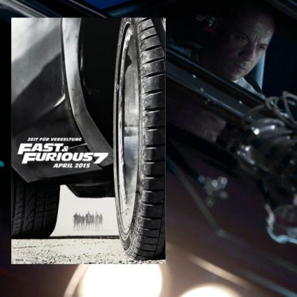 """Fast & Furious 7"" läuft ab dem 1. April 2015 in den deutschen Kinos. (Foto)"
