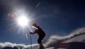 Fast überall viel Schnee auf den Pisten (Foto)