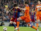 FC Barcelona legt vor: 2:1 gegen Getafe (Foto)
