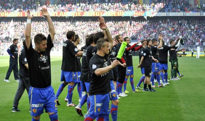 FC Basel holt 15. Schweizer Meistertitel (Foto)