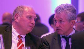FC Bayern: Der Zorn des Uli (Foto)
