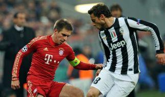 FC Bayern gegen Juventus Turin im Achtelfinale der Champions League. (Foto)