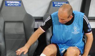 FC Bayern: Kein Zeitpunkt für Robben-Rückkehr (Foto)