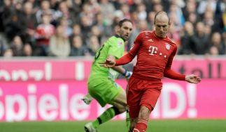 FC Bayern: Machtdemonstration beim 7:1 - «Delikatesse» (Foto)