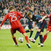 FC Bayern München gegen Atletico Madrid in der Allianz Arena in München im Mai 2016. (Foto)