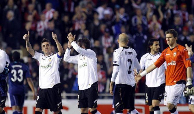 FC Valencia im Achtelfinale - Lüttich 96-Gegner (Foto)