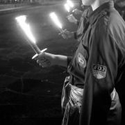 FDJ-ler im sowjetischen Ehrenmal Treptow (Foto)
