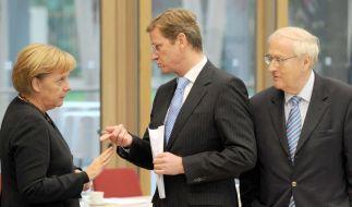 FDP beharrt im Koalitionspoker auf Steuersenkungen (Foto)