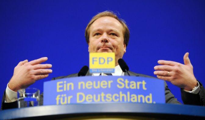 FDP-Generalsekretär Dirk Niebel (Foto)