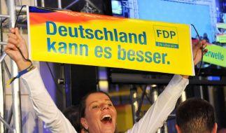 FDP im Wahlkampf (Foto)