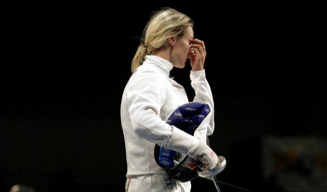 Fechterin Heidemann verpasst Finale in Budapest (Foto)