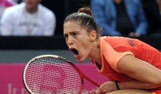 Fed Cup: Petkovic verliert - Deutschland steigt ab (Foto)