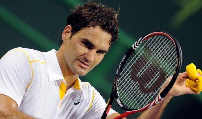 Federer im Doha-Endspiel gegen Dawydenko (Foto)