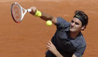Federer lässt Kamke keine Chance - Petzschner raus (Foto)