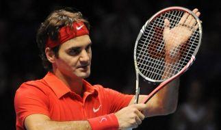 Federer mit zweitem Sieg bei Tennis-WM (Foto)