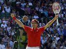 Federer und Murray wieder im Finale von Wimbledon (Foto)