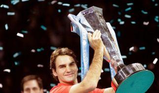 Federer zum fünften Mal Tennis-Weltmeister (Foto)
