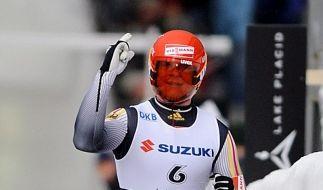 Felix Loch verteidigt WM-Titel im Rodeln (Foto)