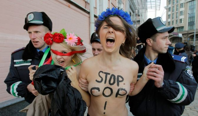 Femen-Frauenprotest (Foto)
