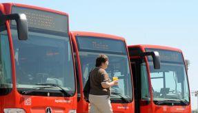 Fernbusse in Deutschland (Foto)