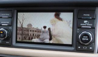 Fernsehen im Auto (Foto)