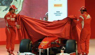 Ferrari Präsentation (Foto)
