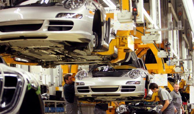 Fertigung von Porsche in Zuffenhausen. (Foto)