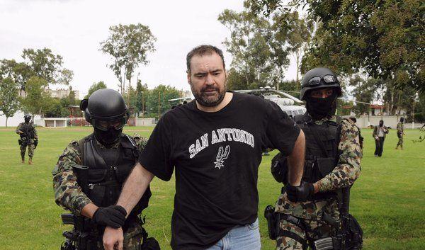 Festnahme des mexikanischen Drogenbosses (Foto)