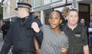 Festnahmen in Großbritannien (Foto)