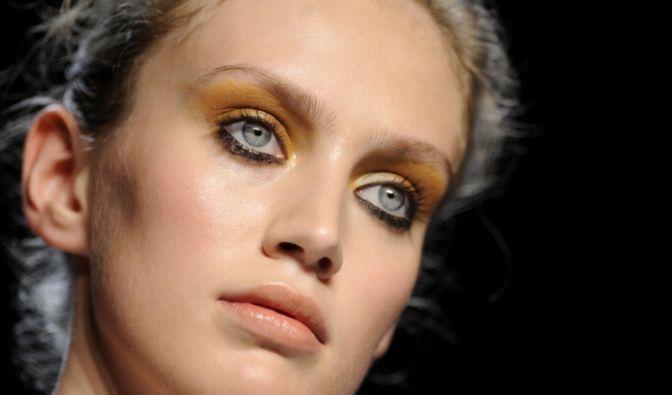 Festtags-Make-up (Foto)