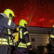 Feuer in Notunterkunft: Woidke geht von Brandanschlag aus (Foto)