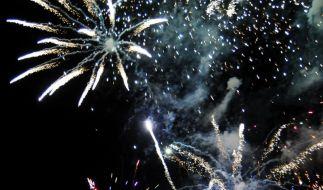 Feuerwerk zu Silvester (Foto)