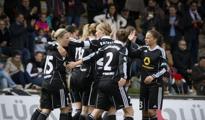 FFC Frankfurt im CL-Finale - 2:0 gegen Arsenal (Foto)