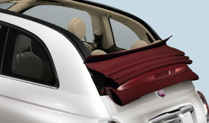 Fiat 500 Cabriolet (Foto)