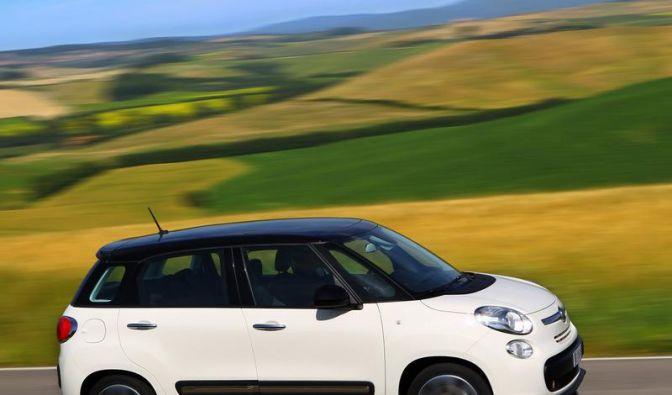 Fiat 500L: Gestreckter Kleinwagen ab Oktober erhältlich (Foto)