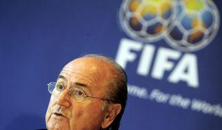 FIFA-Chef Blatter sieht Sportwetten kritisch (Foto)