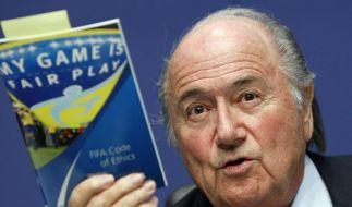 FIFA-Chef Blatter überzeugt: Keine weiteren Fälle (Foto)