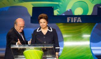 FIFA-Chef Blatter zürnt Zwanziger - Skandal-Jahr (Foto)
