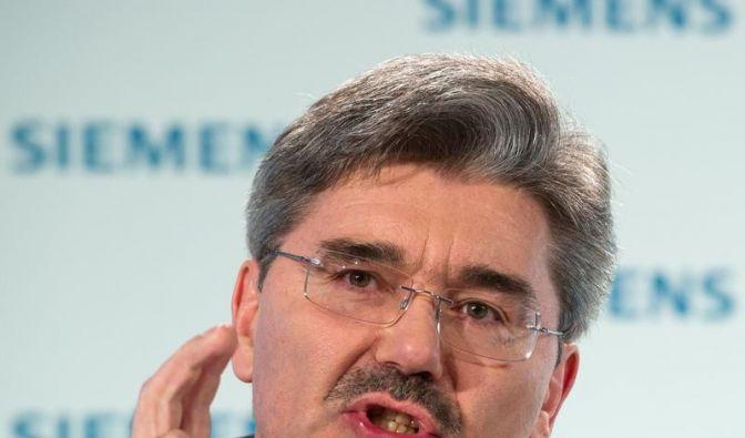Finanzchef: «Europa ist für Siemens keine Schicksalsfrage» (Foto)
