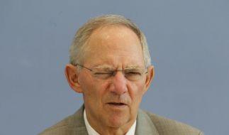 Finanzen mit Augenmaß? Bundesfinanzminister Wolfgang Schäuble (CDU). (Foto)