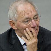 Finanzminister Schäuble steht zu seinen ausbaufähigen Englisch-Kenntnissen.