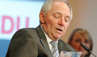 Finanzminister Schäuble verhängt Spardiktat (Foto)