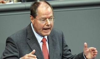 Finanzminister Steinbrück (Foto)