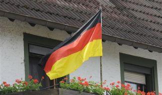 Flagge zeigen zur WM (Foto)