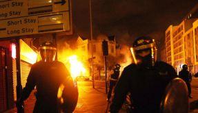 Flammen über London (Foto)
